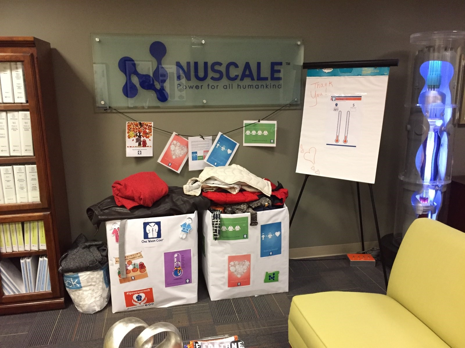 NuScale Chapter of Women in Nuclear Holds Coat Drive Spanning Office Locations Nationwide