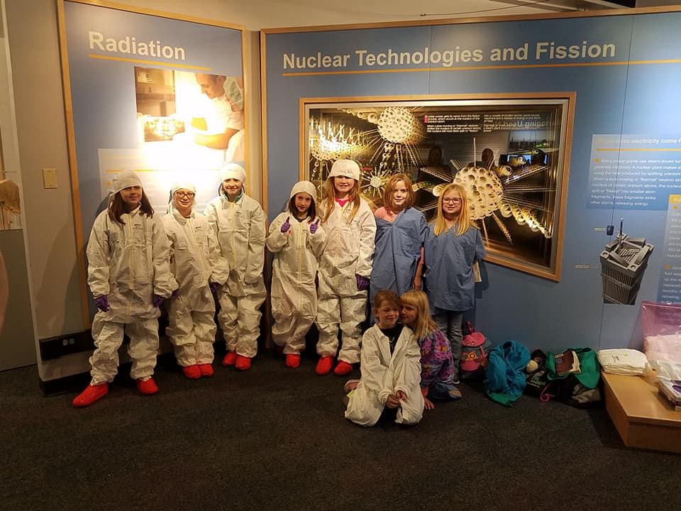 Diablo Canyon Chapter of U.S. WIN hosts Girl Scouts Get to Know Nuclear Day
