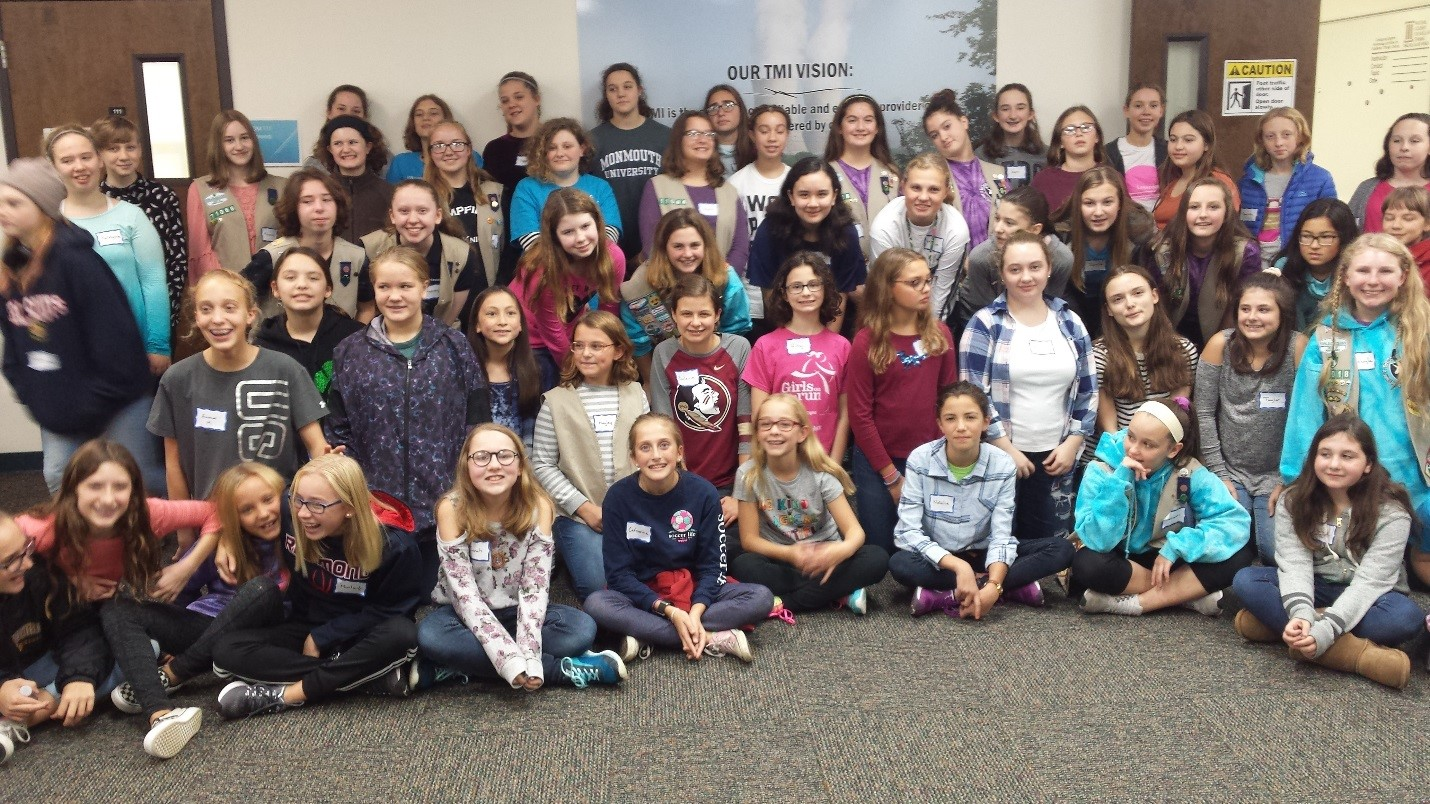 Three Mile Island WIN Chapter Hosts Girl Scout Nuclear Patch Program